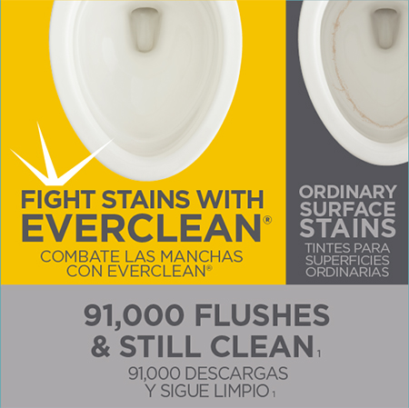 Fights Stains with EverClean